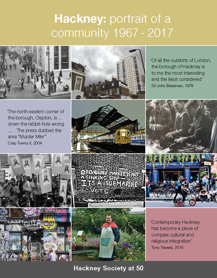 Advert: BOOK: Hackney - portrait of a community 1967-2017