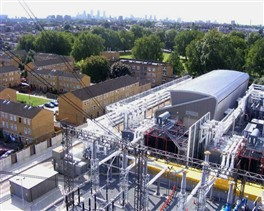 Photo: Illustrative image for the 'Hackney Substation' page