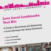Page link: Love Local Landmarks Tool Kit